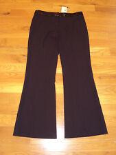 NWT BCBG Maxazria SEQUIN SLIM FLARE CARLA Black Pants Womens 12