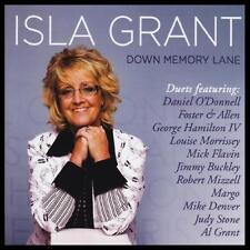 ISLA GRANT - DOWN MEMORY LANE CD ~ DANIEL O'DONNELL~FOSTER & ALLEN +++ *NEW*
