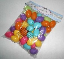 PLASTIC EASTER EGGS  48 ct  Assorted  Colors