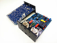 Assembled QUAD405 CLONE stereo Amplifier Board With MJ15024 +Angle aluminum