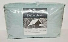 Berkshire Blanket Fluffie Sheet Set Twin xl-Seaglass--NIP