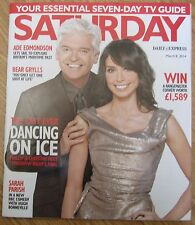 Christine Bleakley on the final Dancing on Ice - Saturday magazine– 8 March 2014