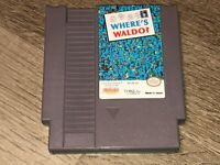Where's Waldo Nintendo Nes Cleaned & Tested Authentic