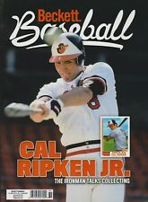 Current Baseball Beckett Price Guide Magazine January 2021 Cal Ripken Jr