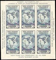 US #735 NGAI VF Farley: Byrd Expedition souvenir sheet