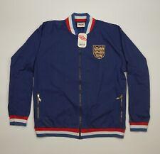 BNWT England Football Soccer Jacket Size Xl Umbro Retro Heavy Cotton 80 Years