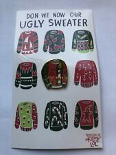 Christmas Lapel Pin Ugly Sweater By Primitives By Kathy NEW Collectible