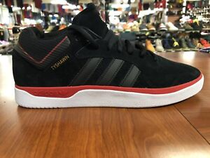 adidas  X Tyshawn Lace Up  Men's  Sneakers Shoes FV5860 Black-Red FREE SHIPPING!