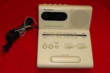 Sony ICF-C770 Dual Alarm Digital Clock AM-FM 2 Band Radio Tilt Display - Tested
