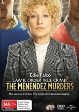 Law & Order True Crimes Menendez Murders DVD NEW Region 4 Edie Falco