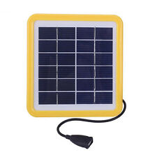 Portable Solar Camping Lantern Emergency Mobile Cell Phone Charger Power Pack