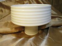 Vintage Ikebana Vase - Ceramic - Pedestal Compote - Multiple Colors Availble