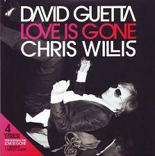 David Guetta & Chris Willis Maxi CD Love Is Gone - France (EX/EX+)