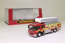 Oxford Diecast 1:76; Scania Rescue Fire Engine; Northamptonshire Excellent Boxed
