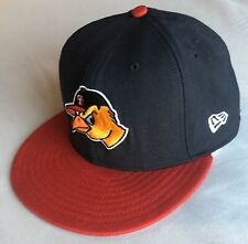 RARE VINTAGE Toledo Mud Hens New Era 59FIFTY Hat 100% WOOL MADE IN U.S.A.
