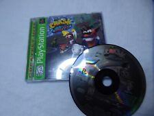 Crash Bandicoot Warped (Sony PlayStation 1, 1998) Complete