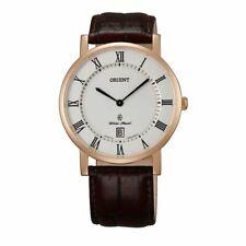 Orient FGW0100EW0 Classic 38MM Men's Brown Leather Watch