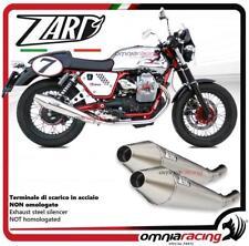 Zard 2 terminali scarico non omologato Moto Guzzi V7 cafe racer/classic 09>12