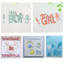 DIY Metal Cutting Dies Stencil for Scrapbooking Card Embossing Craft Baby Girls
