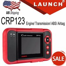 Launch CRP123 OBD2 Code Reader Diagnostic Scanner Transmission ABS SRS Engine