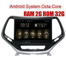 Android 8.1 Car GPS Radio Multimedia Player For JEEP Cherokee 2016+ Octa Core