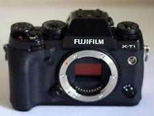 Fujifilm X-T1 Fujinon Fuji XT1 16.3MP Digital SLR Camera (Body Only) (Black)