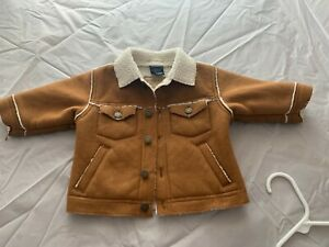 Oshkosh faux suede and fleece baby boys jacket (3-6 Months)