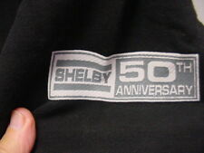 Ford*Shelby*50Th Anni*Zip Up Pullover*Blk*Embroidered Snake On Front*Mns Lg*Nwt