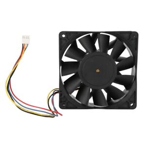 DC12V 36W Computer Quiet Cooling Fan Cooler 4 Pin 4000RPM 190.30CFM for Mining
