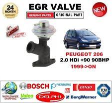 Para Peugeot 206 2.0 HDI +90 90BHP 1999-ON neumática Válvula EGR a Estrenar en Caja