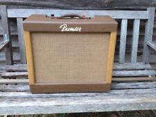 Premier B-160 Club Bass Amp Bass Guitar Tube Combo Amplifier 1961