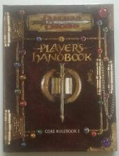 D&D PLAYER HANDBOOK 3.5 CORE RULEBOOK I / + CD CARACTER GENERATOR. ORIGINAL