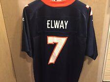 JOHN ELWAY Authentic LOGO ATHLETIC  Replica NFL Jersey Sz XL BOYS