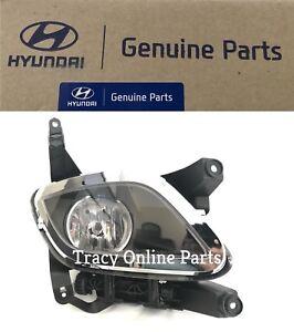 Genesis Sedan 2009-10-11 Fog Lamp Right Passenger Side Fog Light Original Huynda