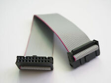 2x10 (20-pin) IDC Ribbon Cable, 2.54mm pitch, 15cm - USA Seller - Free Shipping