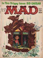 Mad Magazine Fair Foul Sid Caesar June 1960 052219nonr