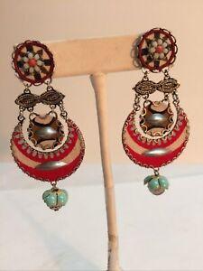 Ayala Bar Post Back Ball Dangle Earrings