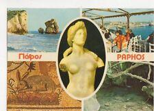 Paphos Cyprus Multiview Postcard 462a