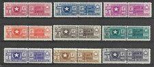 SOMALIA 1950 Parcel Post Set Scott #Q56-64 MNH