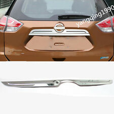 FIT FOR NISSAN Rogue X-Trail 2014 2015 2016 2017 REAR TRUNK LID COVER TRIM