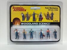 Woodland Scenics Figures People TRAIN MECHANICS HO Scale Model Railroad A1859