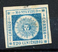 Uruguay, 1861 sun, wide figures