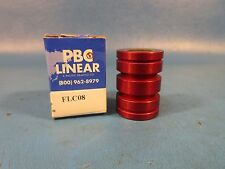 Pacific Bearing, FLC08, PBC FLC08, Self-Lubricated Linear Bearing, PBC Linear