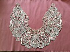 Antique Ornate Irish Lace Collar