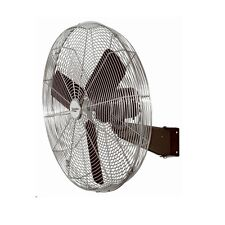 "30"" High Velocity Oscillating Wall Mount Fan - All Metal Commercial Grade"