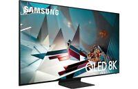 "Samsung QN75Q800TAFXZA 75"" 8K QLED Smart TV - Titan Black QN75Q800T"