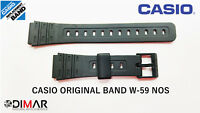 VINTAGE CASIO ORIGINAL BAND / CORREA W-59 NOS