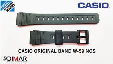 VINTAGE CASIO ORIGINAL BAND / CORREA W-59 NOS