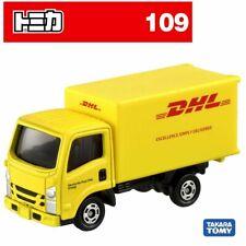 Takara Tomy Tomica No.109 Dhl Truck Mini Diecast Toy Car