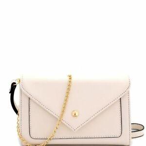 Saffiano Envelope Clutch Cross Body Bag